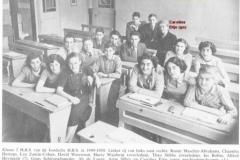 1949-1950-klas 2 HBS-met namen