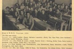 1949-1950-voorjr-klas 3HBS-met namen