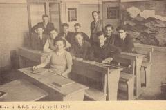1949-1950-voorjr-klas 4HBS-B-met namen-color