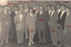 1960-docenten-afscheid-Jacobs-met namen