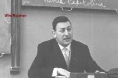 1963-1964-docent-rector-Wim Rijxman
