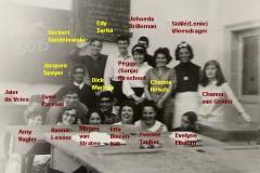 1964-1965-klas IV B (juni)-met namen