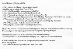 Joop Meijers-cv-bij ex.1965