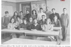 1967-1968-klas 5A HBS-met namen-gehuwd