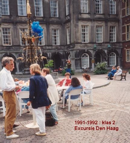 1991-1992-2-excursie -Den Haag