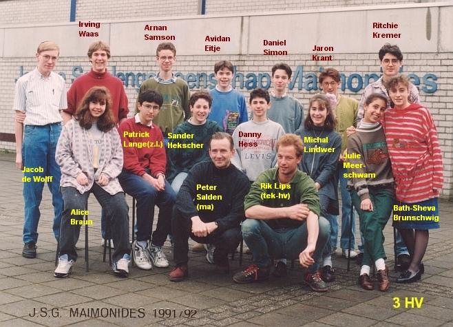 1991-1992-3HV-met namen