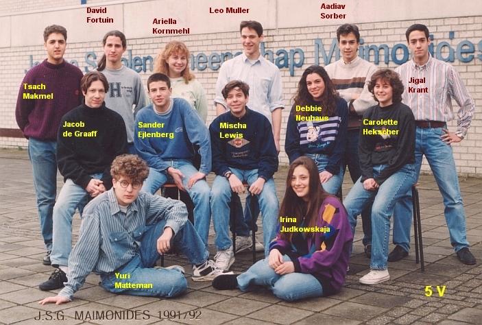 1991-1992-5V-met namen