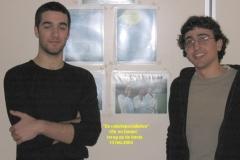 2004-Ofir en Daniel op bezoek-13022004