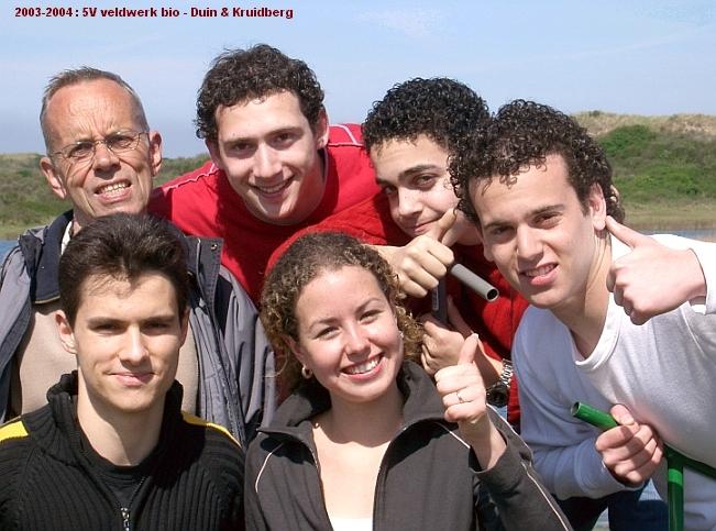 2003-2004-5V-bio-veldwerk-groep-01