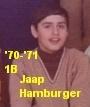 p10a-Jaap Hamburger--1970-1971-1B